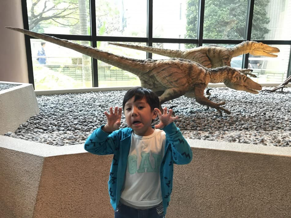 Aaron and Dinosaurs